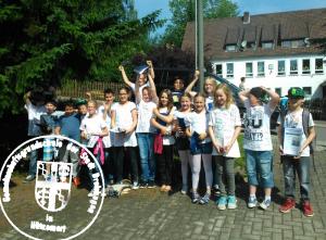 Die letzte Abschlußklasse der Gemeinschaftsgrundschule der Stadt Drolshagen in Hützemert