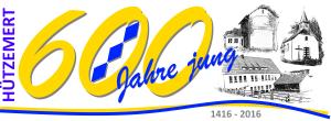 600 Jahre Logo